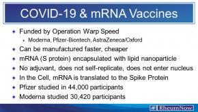 COVID 19 vaccine mrna